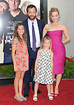 Judd Apatow,Maude Apatow,Iris Apatow & Leslie Mann at The Universal Pictures' Premiere of Funny People held at The Arclight Theatre in Hollywood, California on July 20,2009                                                                   Copyright 2009 DVS / RockinExposures