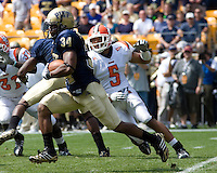 August 30, 2008: Pitt running back LaRod Stephens-Howling..The Bowling Green Falcons defeated the Pitt Panthers 27-17 on August 30, 2008 at Heinz Field, Pittsburgh, Pennsylvania.