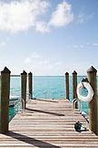 EXUMAS, Bahamas. The dock at the Fowl Cay Resort.