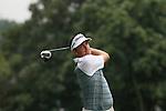 Keegan Bradley (USA) on the 11th tee on day 1 of the World Golf Championship Bridgestone Invitational, from Firestone Country Club, Akron, Ohio. 4/8/11.Picture Fran Caffrey www.golffile.ie