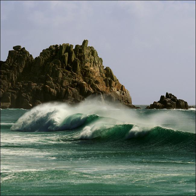 Portfolio Images. Logans Rock, Cornwall.