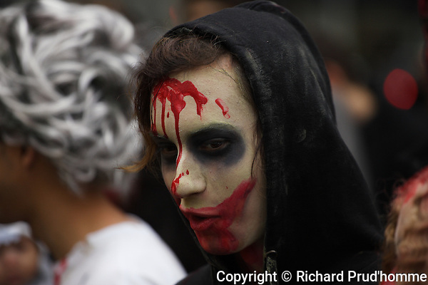 The Montreal Zombie walk