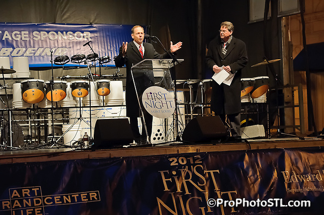 First Night 2011 at Grand Center in St. Louis.