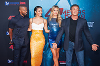 Los Angeles, CA - AUGUST 13th: <br /> Jamie Foxx, Corinne Foxx, Sistine Rose Stallone, Sylvester Stallone attends the 47 Meters Down premiere at the Regency Village Theater on August 13th 2019. Credit: Tony Forte/MediaPunch