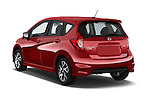 Car pictures of rear three quarter view of a 2015 Nissan Versa Note 5 Door Hatchback angular rear