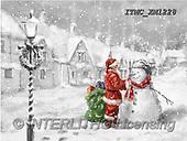 Marcello, CHRISTMAS SANTA, SNOWMAN, WEIHNACHTSMÄNNER, SCHNEEMÄNNER, PAPÁ NOEL, MUÑECOS DE NIEVE, paintings+++++,ITMCXM1228,#X#