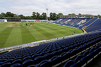 General view of the ground ahead of  Glamorgan vs Essex Eagles, Vitality Blast T20 Cricket at the Sophia Gardens Cardiff on 7th August 2018
