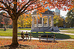 Fall foliage in Boston Common, Boston, Massachusetts, USA