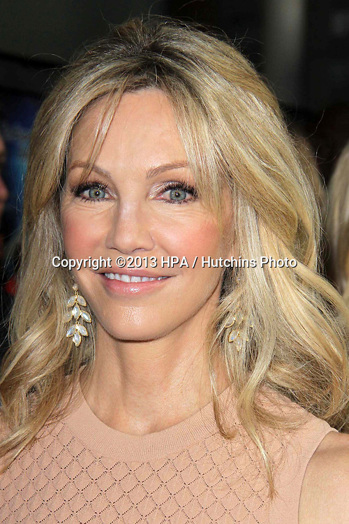 "LOS ANGELES - APR 11:  Heather Locklear arrives at the ""Scary Movie V"" Premiere at the Cinerama Dome on April 11, 2013 in Los Angeles, CA"