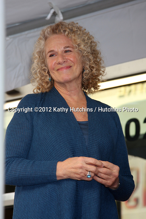 LOS ANGELES - DEC 3:  Carole King at the Hollywood Walk of Fame Star Ceremony for Carole King at Hollywood Blvd on December 3, 2012 in Los Angeles, CA