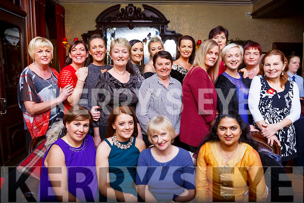 The Tralee Community Nursing Unit from Kilkerisk., enjoying their Christmas party in the Grand Hotel, on Saturday night last.