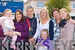 Rachel, Sheila Rahilly, Marian, Michelle Cronin, Siobhain Carmody, Ann Cronin and Mairead Carmody Gneeveguilla having fun at Rathmore Fair on Sunday.