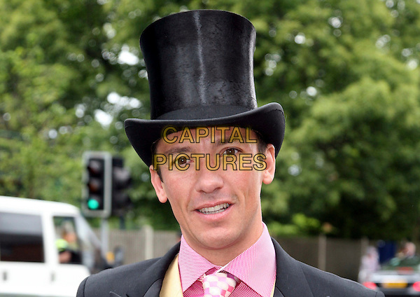 FRANKIE DETTORI.Attending Day 2 at Ascot, Ascot, England, UK, June 18th 2008..portrait headshot black top hat.CAP/DS.©Dudley Smith/Capital Pictures