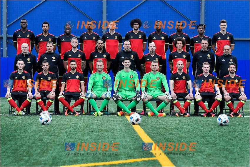 Formazione Ufficiale Belgio <br /> Bruxelles 05-06-2016 Calcio Amichevole Belgio Norvegia<br /> Foto Photonews/Panoramic/Insidefoto