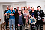 "Heritage night : Participants who took part in an evening of ""open mic  "" celebration of poetry, prose, music & storytelling at the Seanchai Centre, Listowel as part of Heritage night on Friday last."