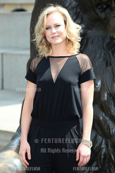 Ingrid Bolso Berdal attending at photocell for Hercules, at Trafalgar Square, London. 02/07/2014 Picture by: Alexandra Glen / Featureflash
