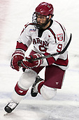 Luke Esposito (Harvard - 9) - The Harvard University Crimson defeated the Providence College Friars 3-0 in their NCAA East regional semi-final on Friday, March 24, 2017, at Dunkin' Donuts Center in Providence, Rhode Island.