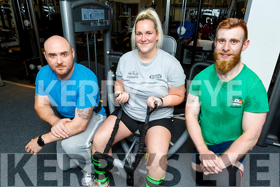 David McElliott, Rachel O'Connor and Robert Powell are due to complete in the World Powerlifting Championships in Canada in October