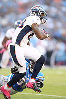10/15/12 San Diego, CA: Denver Broncos wide receiver Demaryius Thomas #88 during an NFL game played between the San Diego Chargers and the Denver Broncos at Qualcomm Stadium. The Broncos defeated the Chargers 35-24.