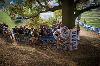 World Champion Thalita de Jong (NED/Rabo-Liv) &amp; defending champion Jolien Verschueren (BEL/Telenet-Fidea) leading the way<br /> <br /> 25th Koppenbergcross 2016