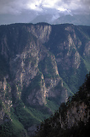 Surrounding area of Durmitor National Park (UNESCO), Tara Canyon (second largest in the World), Tara River and the Mountains of Montenegro, Europe