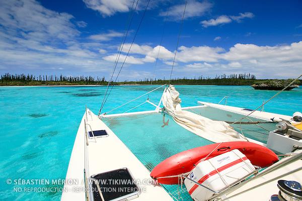 Mouillage en baie d'Oro, Ile des Pins, Nouvelle-Calédonie