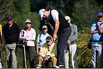 Paul Lawrie (SCO) takes his putt on the 13th green during Day 3 Saturday of the Open de Andalucia de Golf at Parador Golf Club Malaga 26th March 2011. (Photo Eoin Clarke/Golffile 2011)