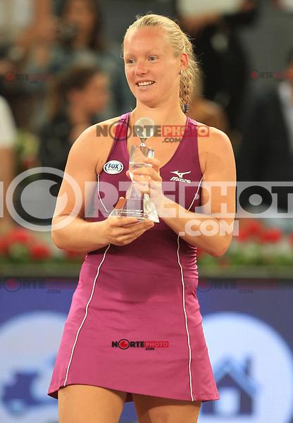Kiki Bertens, Netherlands, Finalist in the Madrid Open Tennis 2018. May 12, 2018.(ALTERPHOTOS/Alberto Simon)