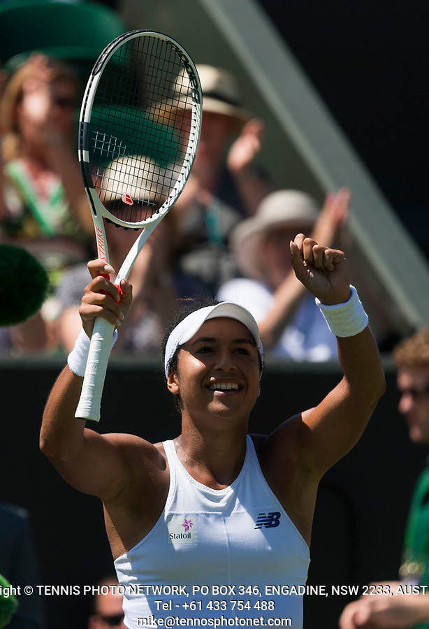 HEATHER WATSON (GBR)<br /> <br /> TENNIS - THE CHAMPIONSHIPS - WIMBLEDON- ALL ENGLAND LAWN TENNIS AND CROQUET CLUB - ATP - WTA -ITF - WIMBLEDON-SW19, LONDON, GREAT  BRITAIN- 2017  <br /> <br /> <br /> &copy; TENNIS PHOTO NETWORK