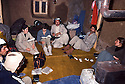 Iran 1981.At the headquarters of KDPI,in the middle Nabi Qadri and on his left, Dr. Florence Veber of AMI