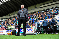 Steve Cooper Head Coach of Swansea City during the Sky Bet Championship match between Wigan Athletic and Swansea City at The DW Stadium in Wigan, England, UK. Saturday 2 November 2019