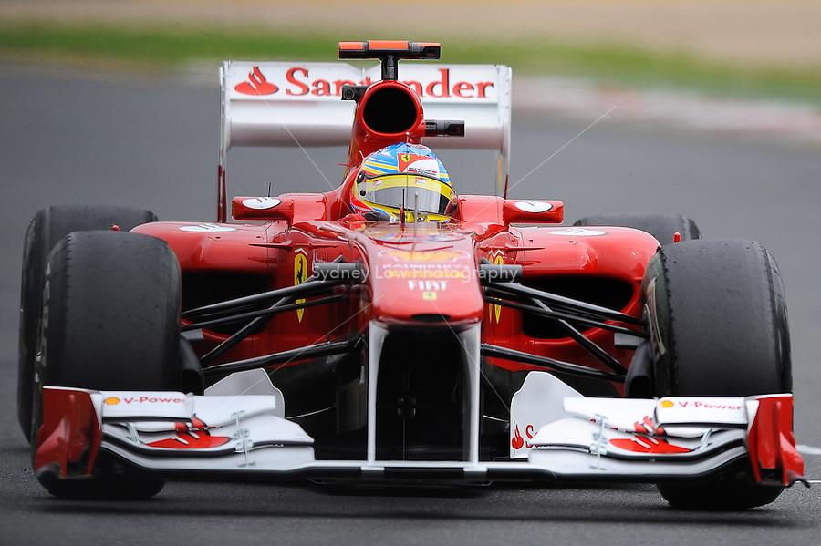 MELBOURNE, 25 MARCH - Fernando Alonso (Spain) driving the Scuderia Ferrari Marlboro car (5) during practise session one of the 2011 Formula One Australian Grand Prix at the Albert Park Circuit, Melbourne, Australia. (Photo Sydney Low / syd-low.com)