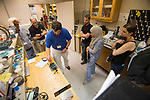 Tour of NCPA for the Physical Acoustics summer school.  Photo by Kevin Bain/University Communications Photography.