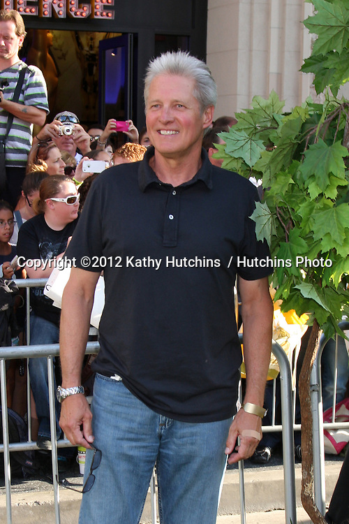 LOS ANGELES - AUG 6:  Bruce Boxleitner arriving at the World Premiere of  ?The Odd Life of Timothy Green?  at El Capitan Theater on August 6, 2012 in Los Angeles, CA