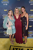 """HOLLYWOOD - SEPTEMBER 24: Mary Elizabeth Ellis, Kaitlin Olson and Jill Latiano attend the red carpet premiere event for FXX's """"It's Always Sunny in Philadelphia"""" Season 14 at TCL Chinese 6 Theatres on September 24, 2019 in Hollywood, California. (Photo by Stewart Cook/FXX/PictureGroup)"""