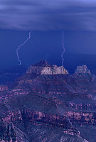 749220229v a summer monsoon lightning storm drifts over the canyon delivering multiple lightning strikes in this view from north rim lodge in grand canyon national park arizona