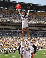 August 30, 2008: Bowling Green cheerleader..The Bowling Green Falcons defeated the Pitt Panthers 27-17 on August 30, 2008 at Heinz Field, Pittsburgh, Pennsylvania.