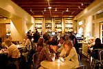 The bar area of El Dorado Hotel's stylish bar, in Sonoma, Ca., on Friday, July 30, 2010.