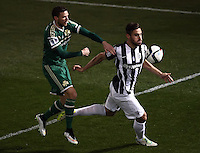 "Pictured: Sotiris Papagiannopoulos (R), when he played for PAOK Salonika in Greece. STOCK PICTURE<br /> Re: Swedish centre-back Sotiris Papagiannopoulos is joining Premier League side Swansea City for a trial.<br /> The 26-year-old is contracted to Swedish club Ostersunds FK, so could only sign for the Swans when the transfer window reopens in January.<br /> Swansea say Stockholm-born Papagiannopoulos will train with them for ""a few days"".<br /> The club have a working relationship with Ostersunds, having signed forward Modou Barrow from them in 2014."