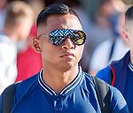 22.06.2019 Rangers arrive in Portugal: Alfredo Morelos