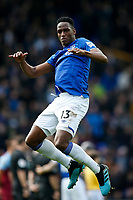 Yerry Mina of Everton during the Premier League match between Everton and West Ham United at Goodison Park on October 19th 2019 in Liverpool, England. (Photo by Daniel Chesterton/phcimages.com)<br /> Foto PHC/Insidefoto <br /> ITALY ONLY