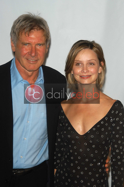 Harrison Ford and Calista Flockhart