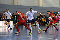 Stuart Cook of England controls the ball during England vs Poland, International Futsal Friendly at St George's Park on 2nd June 2018