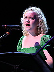 """Amanda Jane Cooper during the New York Musical Festival production of  """"Alive! The Zombie Musical"""" at the Alice Griffin Jewel Box Theatre on July 29, 2019 in New York City."""