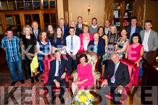 On Friday Ann Nash, Brosna,who retired from teaching after 38 years in K.naockaclarig NS celebrating her retirement on Friday evening in Ballygarry House Hotel & Spa,Tralee were family and fellow and retired teachers