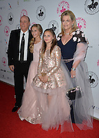 BEVERLY HILLS, CA. October 8, 2016: Nancy Davis &amp; Ken Rickel &amp; Mariella Rickel &amp; Isabella Rickel at the 2016 Carousel of Hope Ball at the Beverly Hilton Hotel.<br /> Picture: Paul Smith/Featureflash/SilverHub 0208 004 5359/ 07711 972644 Editors@silverhubmedia.com