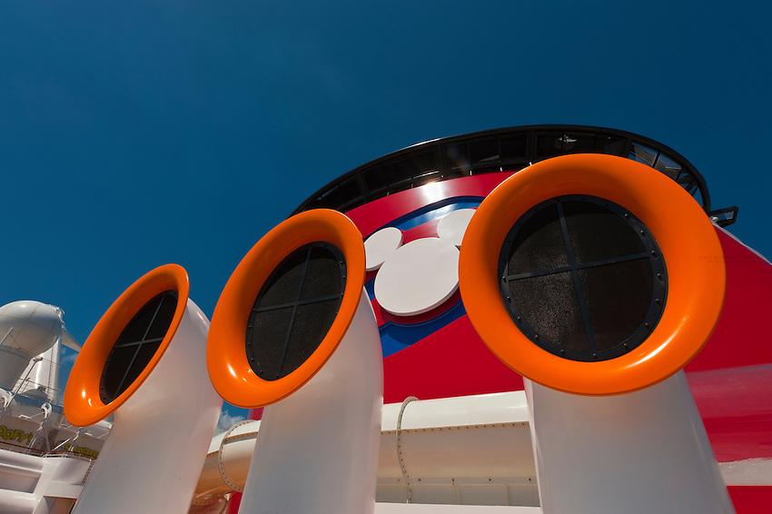 AquaDuck water coaster, Disney Dream cruise ship, sailing between Florida and the Bahamas