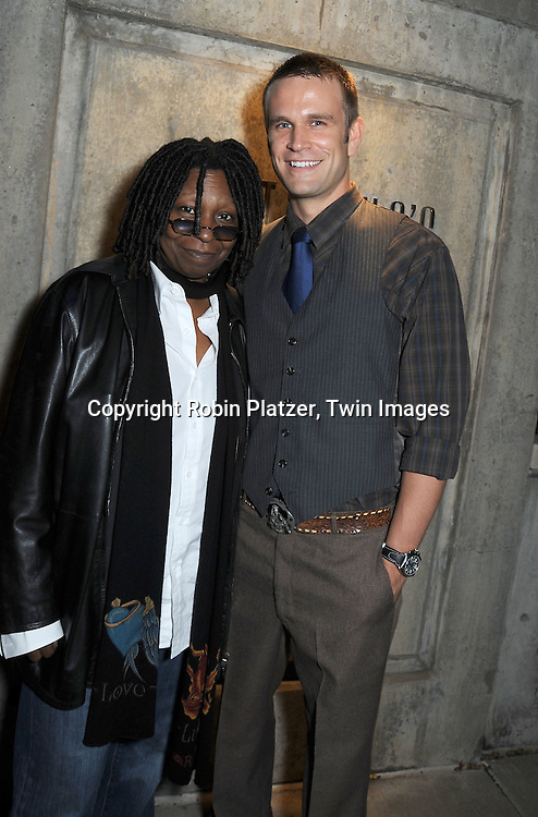 Whoopi Goldberg and John Brotherton