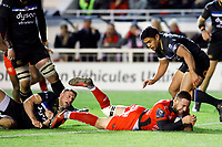 Alby Mathewson of Toulon scores a try during the European Champions Cup match between RC Toulon and Bath on December 9, 2017 in Toulon, France. (Photo by Guillaume Ruoppolo/Icon Sport)