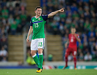 Northern Ireland's Corry Evans    <br /> <br /> <br /> Photographer Craig Mercer/CameraSport<br /> <br /> FIFA World Cup Qualifying - European Region - Group C - Northern Ireland v Czech Republic - Monday 4th September 2017 - Windsor Park - Belfast<br /> <br /> World Copyright &copy; 2017 CameraSport. All rights reserved. 43 Linden Ave. Countesthorpe. Leicester. England. LE8 5PG - Tel: +44 (0) 116 277 4147 - admin@camerasport.com - www.camerasport.com